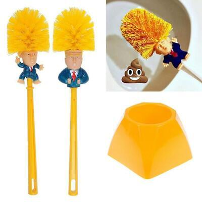 1Set Novelty Present Donald Trump Home Cleaning Tool Presidential Toilet Brush &