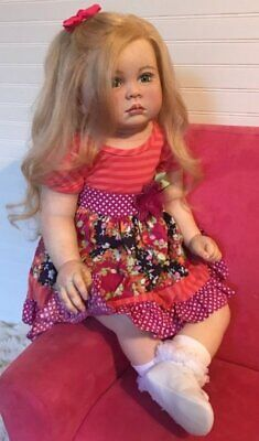 Custom Order Reborn Toddler Girl Doll Julieta by Ping Lau