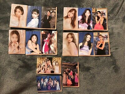 TWICE Feel Special Pre-Order Photocards Set of 3 (Choose member)