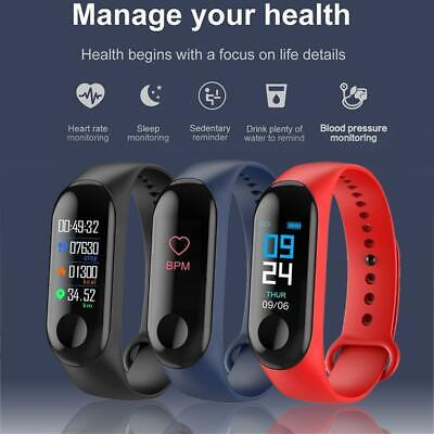 GLOBAL VERSION Bluetooth Smart Watch Sport Fitness Tracker For Android iOS