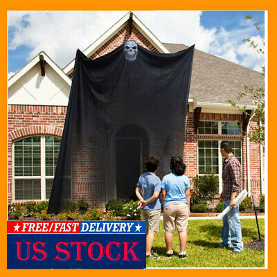 10.8x6.5ft Halloween Ghost Hanging Decorations Scary Spooky Decor for Outdoor
