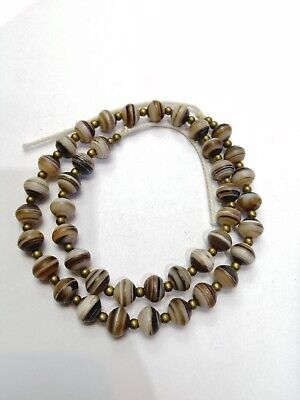 Ancient Roman Carnelian, Agate Beads Romans VERY RARE!  TOP Afcrien Agate Crobo