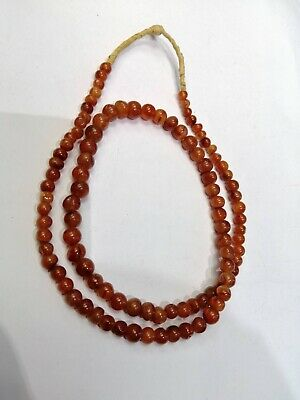 Ancient Roman Carnelian, Agate Beads, Romans VERY RARE Afghani Jewelry Vintage