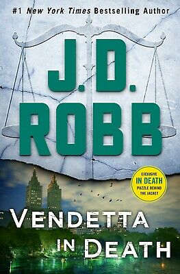 Vendetta in Death An Eve Dallas Novel (In Death,Book 49) by J. D. Robb Hardcover