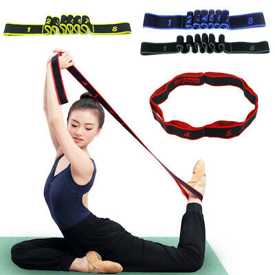 UK Resistance Bands Exercise Loop Strength Weight Training Fitness Workout Home