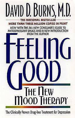 Feeling Good: The New Mood Therapy by David D. Burns (Paperback, 1998)