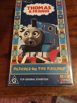 Thomas & Friends - Rescues On The Railway -  Abc Vhs Video