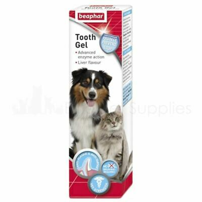 Beaphar Tooth Gel For Dogs Puppies Cats Kittens 100g No Brushing Required