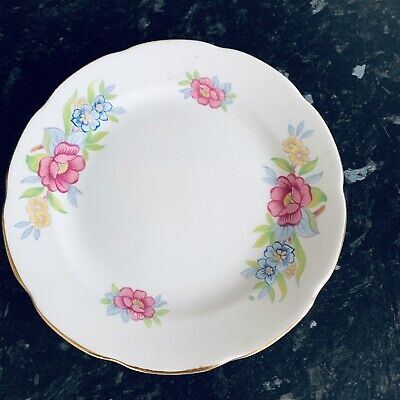 Collingwood Pink Blue Floral Fine Bone China Side Plate Trio Replacement