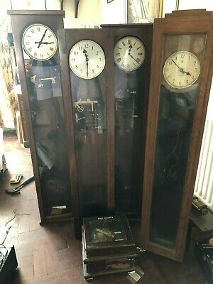Collection of master clocks for restoration