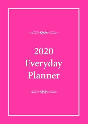 2020 Everyday Planner A4 Pink by Bartel EP001 FREE POSTAGE