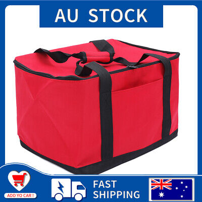 27L Food Delivery Bag Professional Takeaway Holds Pizza/Burgers/Pies 15.7Inch