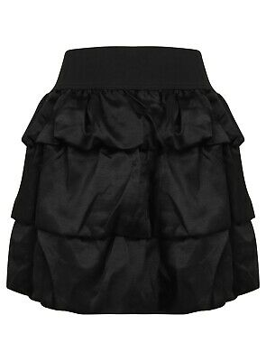 Ladies Girls Skirt Dress Short Cotton Silk Elastic New Lined Soft Touch size