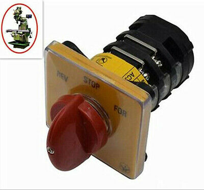 1X Milling Machine Part Forward and Reverse One Period Switch For Bridgeport New