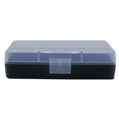 CLEAR 100 Round 9MM 380 BERRY/'S PLASTIC AMMO BOX 5
