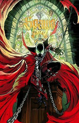 SPAWN #300 image  Cover  G J. Scott Campbell  Variant  2019