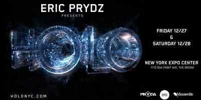 4 Tickets - Eric Prydz Presents  Holo Nyc - Saturday - Dec 28, 2019
