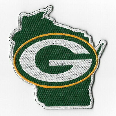 Green Bay Packers (b) Iron on Patch Embroidered Football Patches
