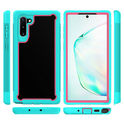 For Samsung Galaxy Note 10 Note 10 Plus Hybrid Armor Clear Back Phone Case Cover