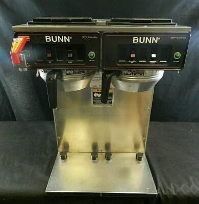 Bunn Commercial Coffee Maker Twin Pot (ICWTF TWIN 50307) 240V