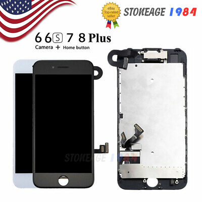 For iPhone 7 8 6 6s Plus LCD Display Touch Screen Assembly Digitizer Replacement