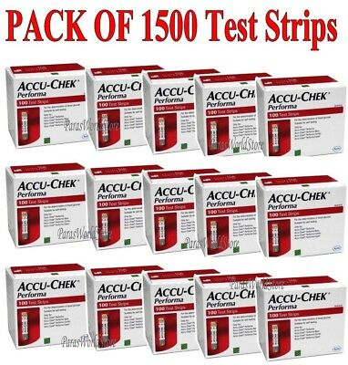 Accu-Chek Performa Test Strips Glucose Test Strips Exp 30SEP 2020 Made In USA