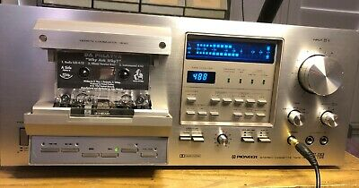 Pioneer CT-F950 Stereo Cassette Tape player with 6 tapes.