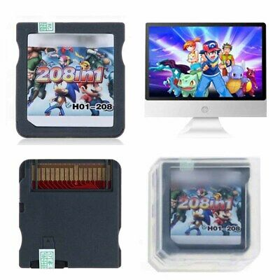 Universal 208 in 1 Game Cartridge for DS NDS 3ds Video Game Naruto UK