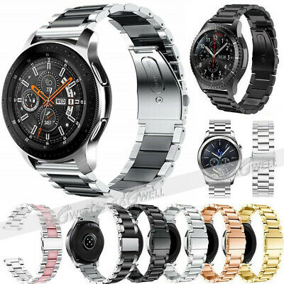 US Replacement Stainless Steel Link Strap Wrist Watch Band Bracelet 20mm / 22mm