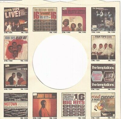 TAMLA MOTOWN,  Company Reproduction Record Sleeves - (pack of 12)