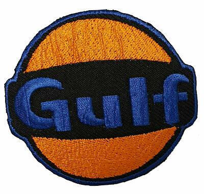 Gulf Patch Gulf Oil Race Team Patch Set/_MOTOR005 Motor Patches Applique Embroidered patches Backpack Patches Champion Patch Auto Racing Patches Set STP Oil Patches Iron on Patches