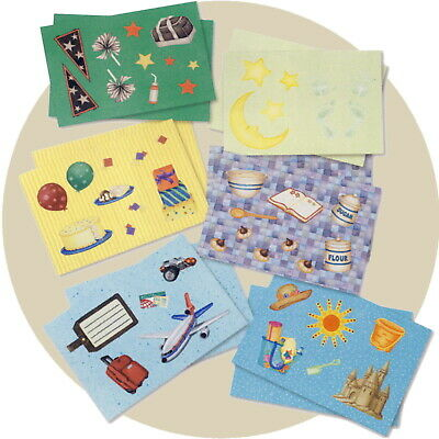 Creative Memories Kit & Caboodle Die Cut and Photo Mat Pack CHOICE