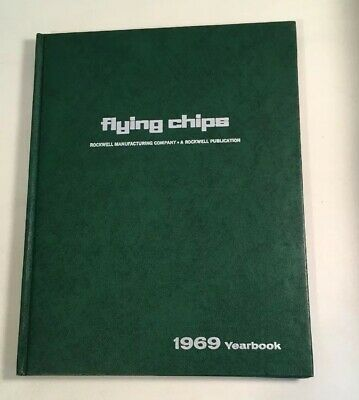 Flying Chips 1969 Yearbook Rockwell Woodworking Furniture Making Carpentry
