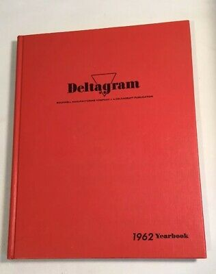 Deltagram 1962 Yearbook Rockwell Woodworking Furniture Making Carpentry