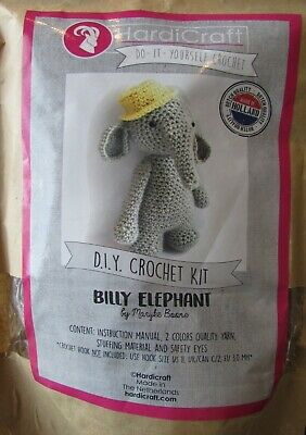 Hardicraft do it yourself crochet kit Billy Elephant Made in Holland Brand New