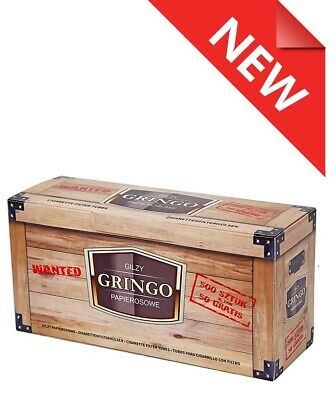 500, 125 Make Your Own Empty Cigarette Filter Tubes Gringo, New Product!!!
