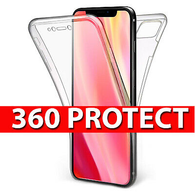 Case for Apple iPhone 11,11 Pro,11 Pro Max ShockProof 360 Front & Back Gel Cover