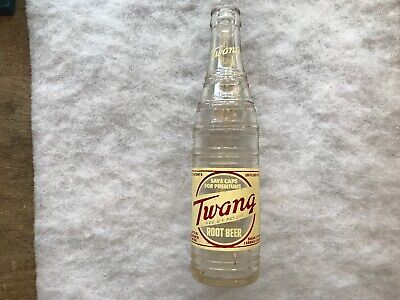 1950 TWANG Root Beer 10 oz. Soda Bottle, Butte Montana
