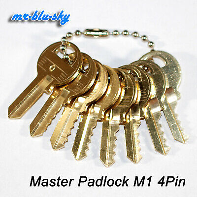 Depth and Space Key Set Master Padlock M1