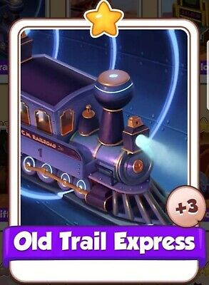 Old Trail Express :- Cyber Cowboys card Set :- Coin Master ( Fastest Delivery )