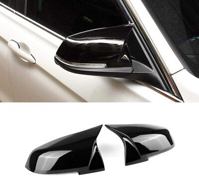 M Performance Wing Mirror Cover Caps Bmw 1 Series F20 2 Series F22 Gloss Black