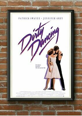 "Classic ""Dirty Dancing"" 1980's Movie Film Poster Print A3 A4 A5 - Pro Printed"