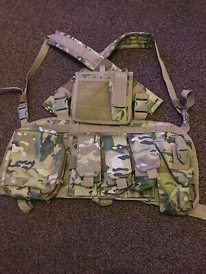 Lightweight Tactical Vest MTP Camouflage Paintball Airsoft Hunting Security