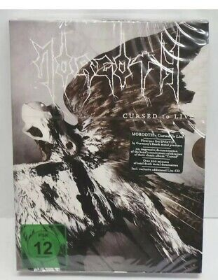 Morgoth Cursed to Live DVD + CD New Sealed Metal