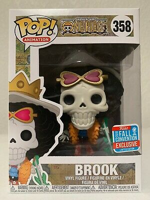 FUNKO POP! ANIMATION ONE PIECE 358 BROOK 2018 NYCC Exclusive
