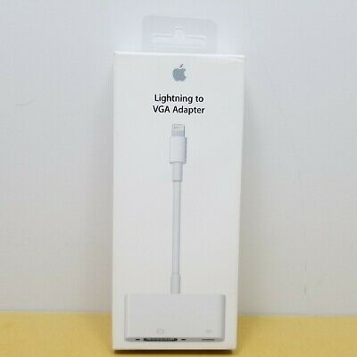 Genuine Apple Lightning to VGA Adapter Cable MD825AM/A