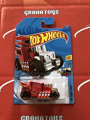 Pixel Shaker #24 Red Ride-Ons 2020 Hot Wheels Case A