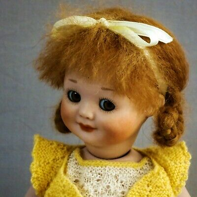 """Antique 10"""" AM323 Googly Doll Reproduction Doll"""