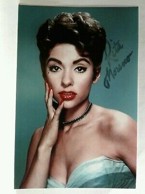 Rita Moreno Authentic Hand Signed Autograph 4X6 Photo - SEXY ACTRESS