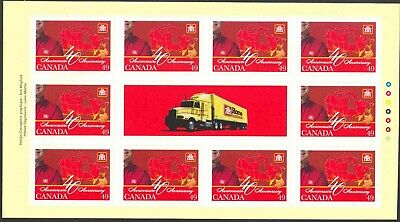 2004 Canada #2032a Self-Adhesive Booklet Pane of 10 Home Hardware Stores